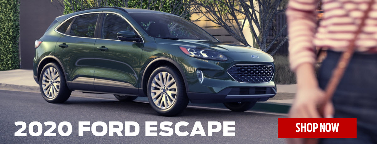 2020 Ford Escape header