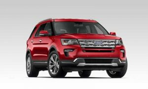 Ford Explorer Ruby Red