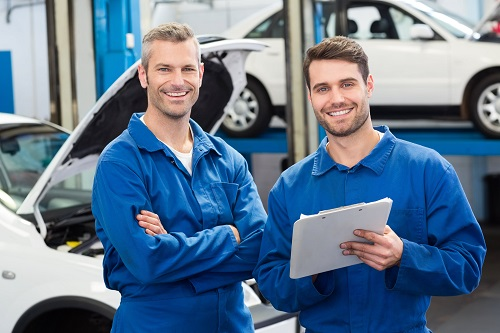 Our Ford Commercial Maintenance Team