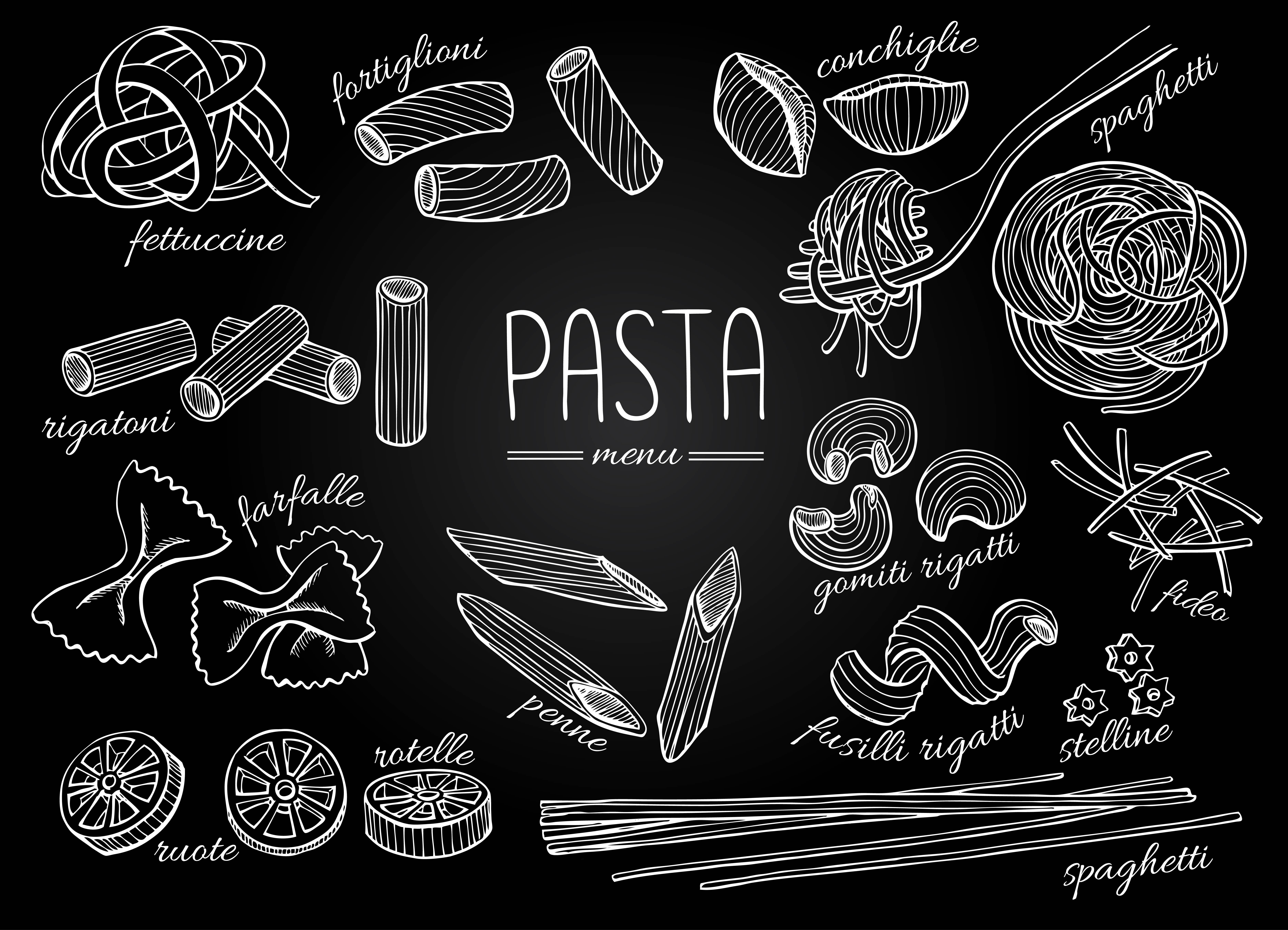 pasta-drawing