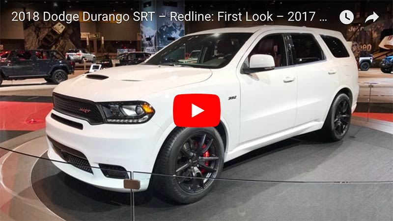 Coming Soon To A Road Near You The 2018 Dodge Durango Srt