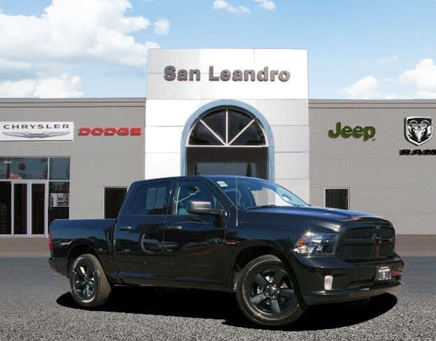 San Leandro CDJR Showroom