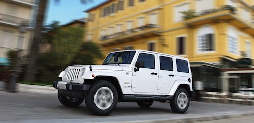Jeep Wrangler JK White
