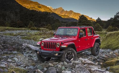 2018 Jeep Wranger Rubicon