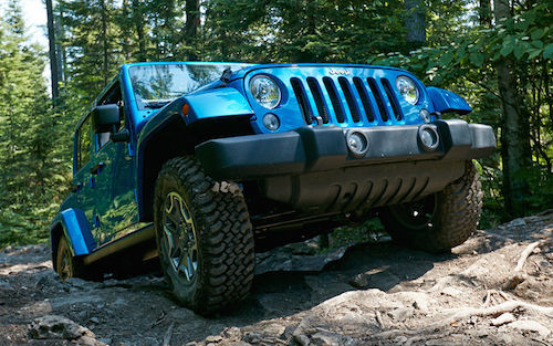 Jeep Wrangler Unlimited Options: