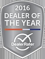 2016 Dealer Rate Award
