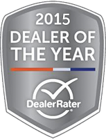 2015 Dealer Rate Award