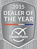 2015 Dealer Rate Award