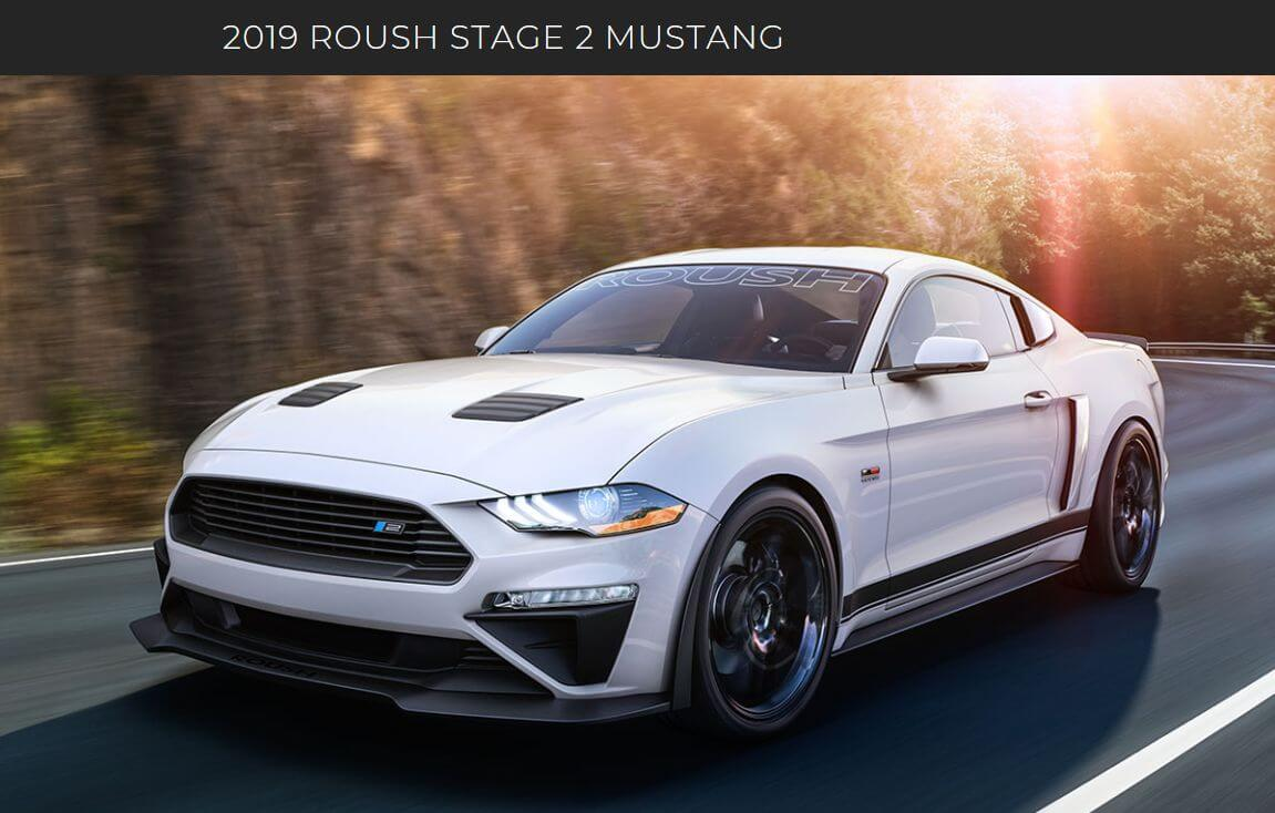 2019 Ford Mustang White