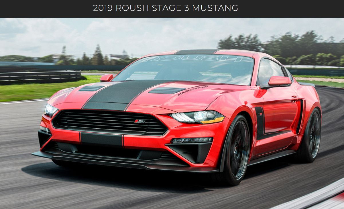 Are you looking for the ultimate performance in a 2019 mustang look no further the roush stage 3 is back and its better than ever