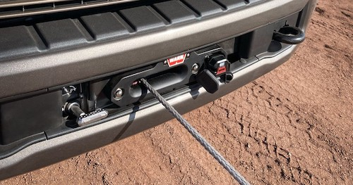 Ford Super Duty Integrated Winch