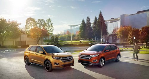Ford Edge Earns Top Safety Rating