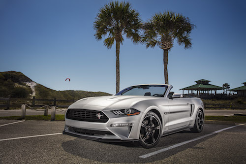 A New Limited Edition California Special Package Will Be Available For The  Mustang Gt Fastback Coupe And Convertibles Models