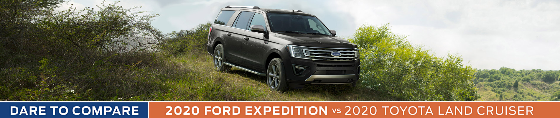 2020 Ford Expedition vs Toyota Land Cruiser - Sun State Ford - Orlando, FL