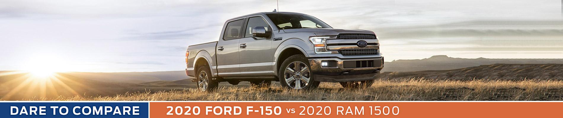 2020 Ford F-150 vs Ram 1500 - Sun State Ford - Orlando, FL