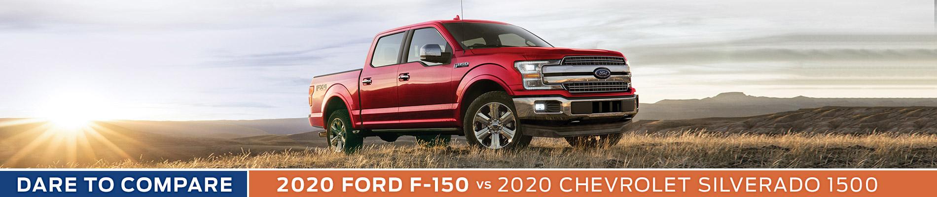 2020 Ford F-150 vs Chevy Silverado 1500 - Sun State Ford - Orlando, FL