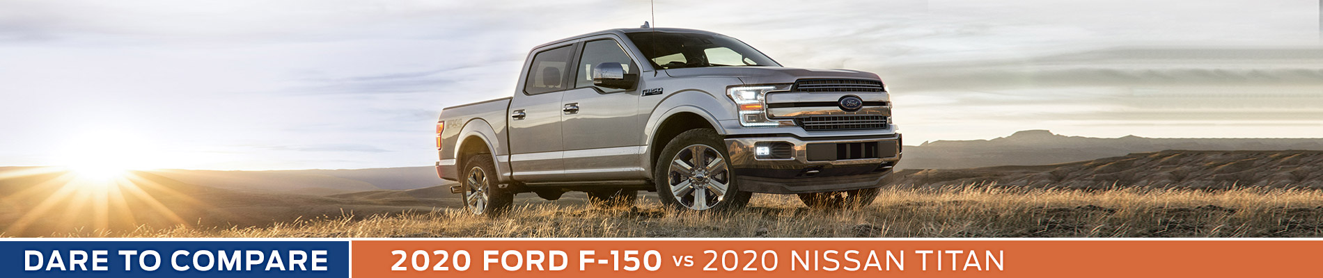 2020 Ford F-150 vs Nissan Titan - Sun State Ford - Orlando, FL