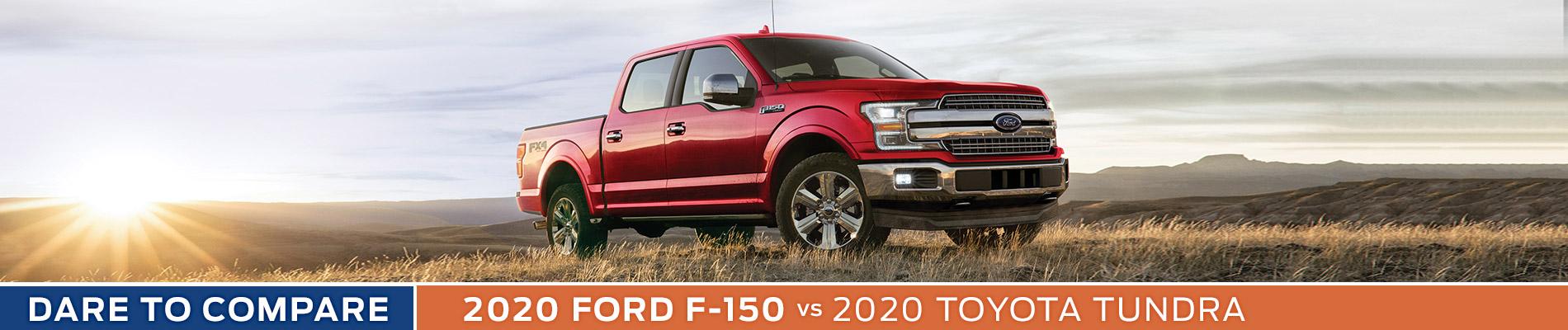 2020 Ford F-150 vs Toyota Tundra - Sun State Ford - Orlando, FL