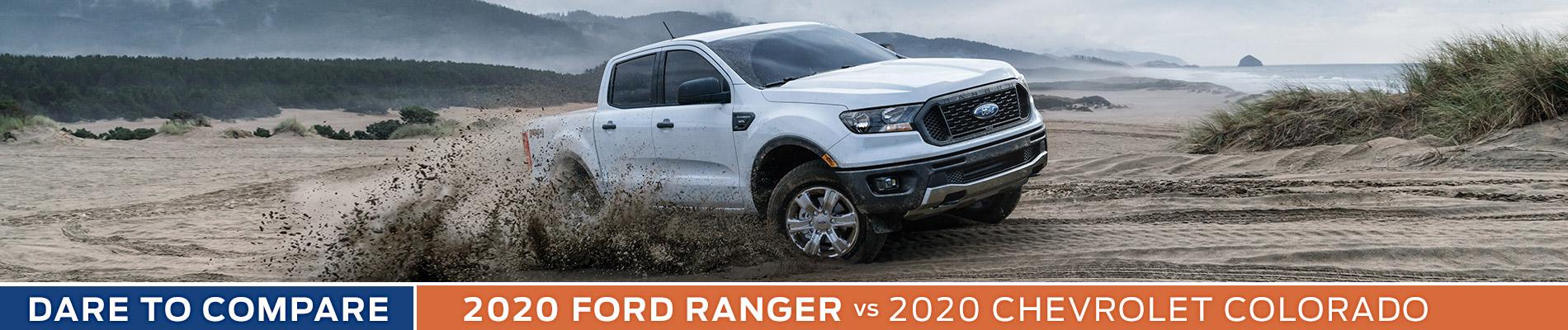 2020 Ford Ranger vs Chevy Colorado - Sun State Ford - Orlando, FL