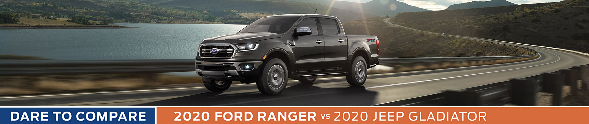 2020 Ford Ranger vs Jeep Gladiator - Sun State Ford - Orlando, FL