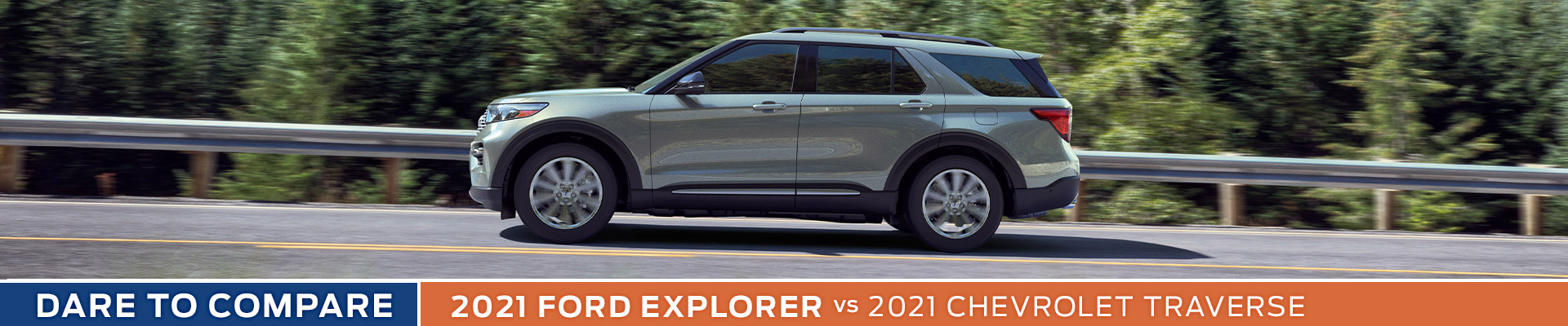2021 Ford Explorer vs. Chevrolet Traverse - Sun State Ford - Orlando, FL