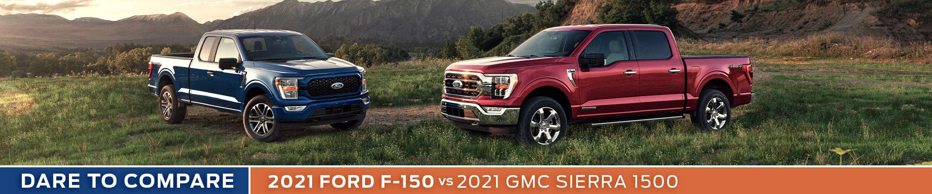 2021 Ford F-150 vs. 2021 GMC Sierra 1500 - Sun State Ford - Orlando, FL