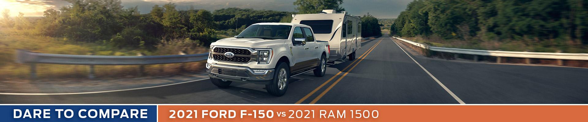 2021 Ford F-150 vs. 2021 Ram 1500 - Sun State Ford - Orlando, FL