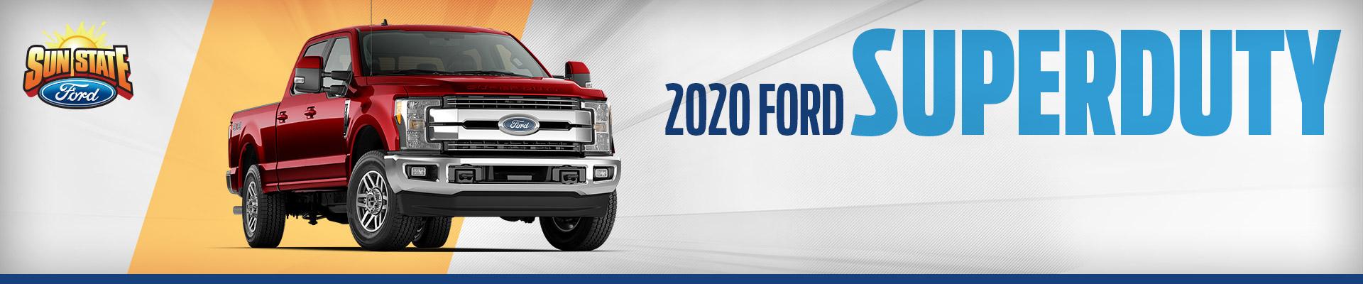 2020 Ford Super Duty - Sun State Ford - Orlando, FL