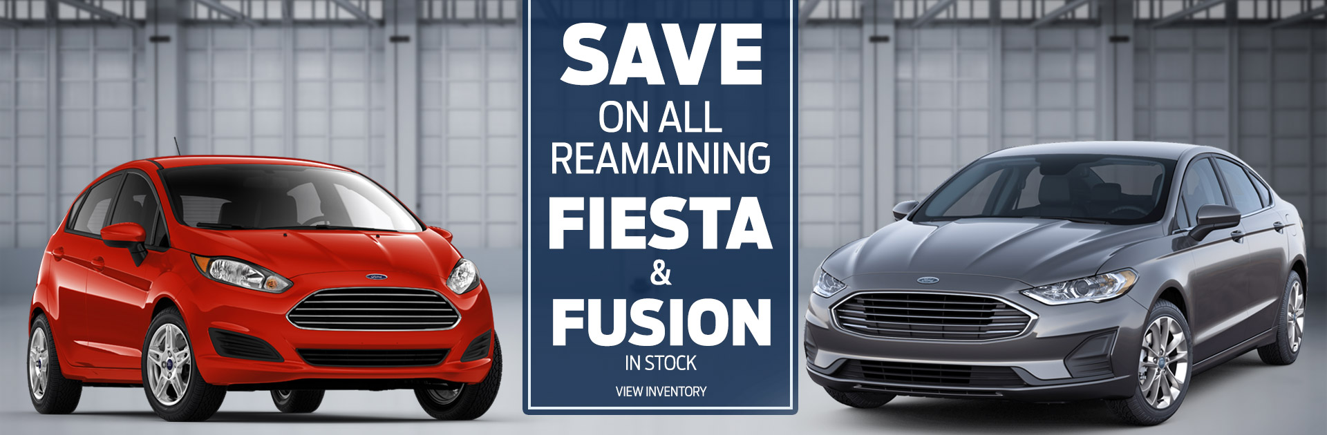 Save On Remaining Fiesta Fusion