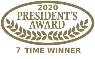 Presidentaward 2020 7time