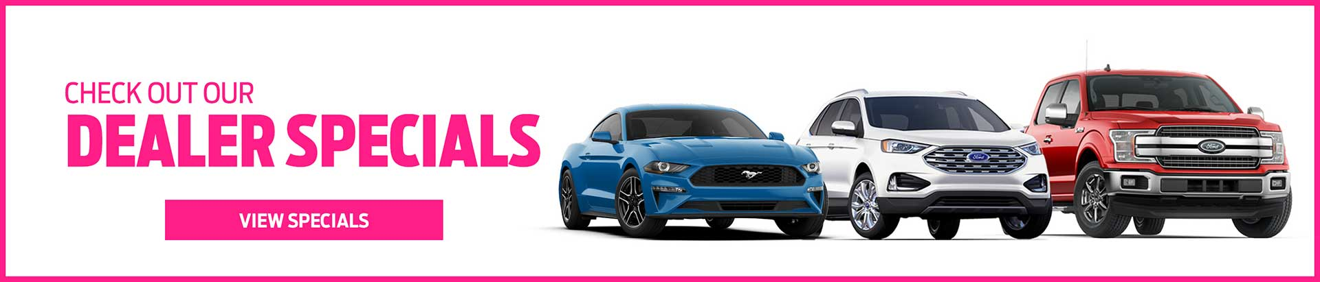 Tomball Ford Dealer Specials