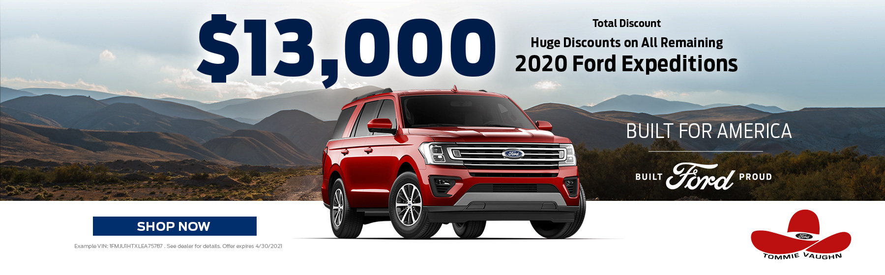 2020 Ford Expedition Offer