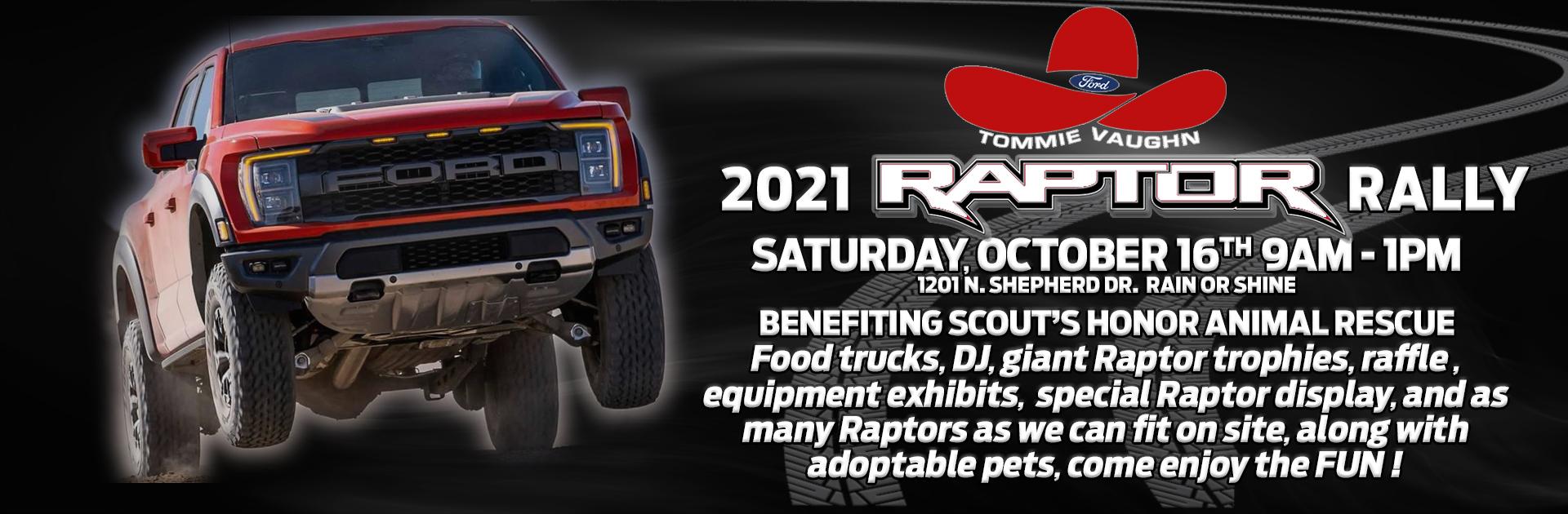 2021 Raptor Rally Banner
