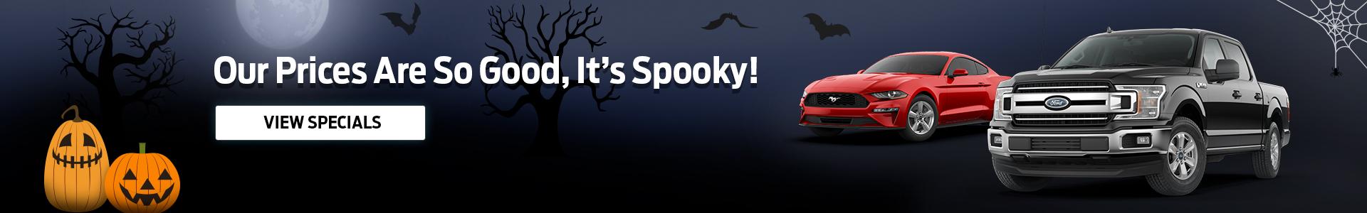 Spooky Savings
