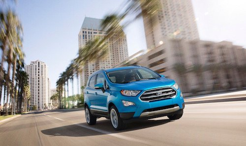 2018 Ford EcoSport In Stock Now