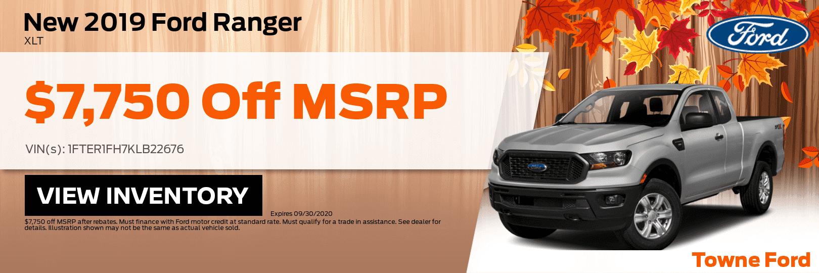 2019 Ford Ranger Xlt 26 1