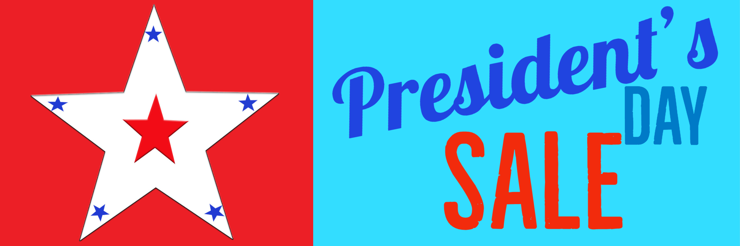 Presidents Day Web Banner