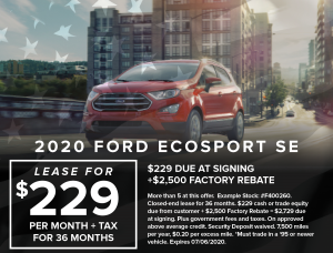 Ford Capo July 4th Specials3