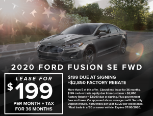 Ford Capo July 4th Specials4