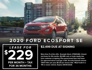 Ford Capo New July Specials7