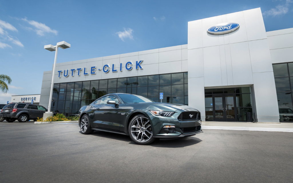 Irvine Auto Center >> About Tuttle Click Ford Dealership In Irvine Ca