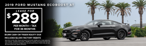 2019 Ford Mustang Ecoboost At