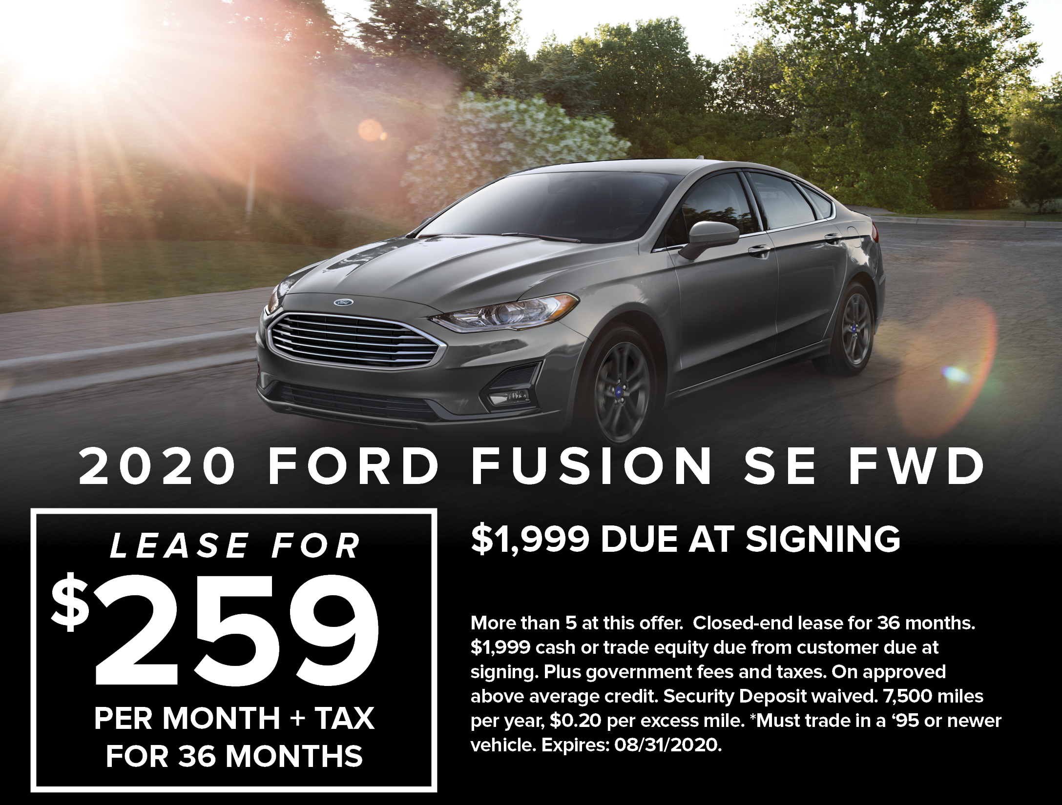 Ford Capo New August Specials9