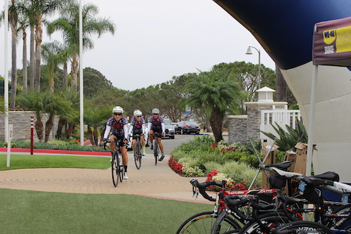 Tuttle-Click Automotive Group supports Challenged Athletes Foundation -- Bike Race