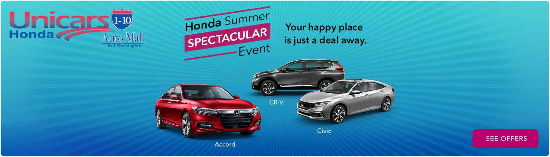 Honda Financial Services Account >> Honda Dealership Car Dealers Coachella Valley Ca Unicars Honda