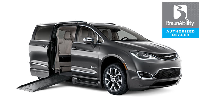 Foldout XT Chrysler Pacifica Wheelchair Van