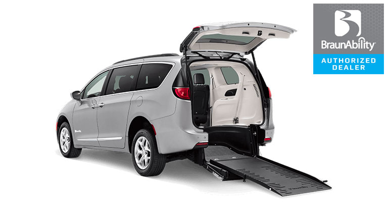 Rear-Entry Chrysler Pacifica Wheelchair Van