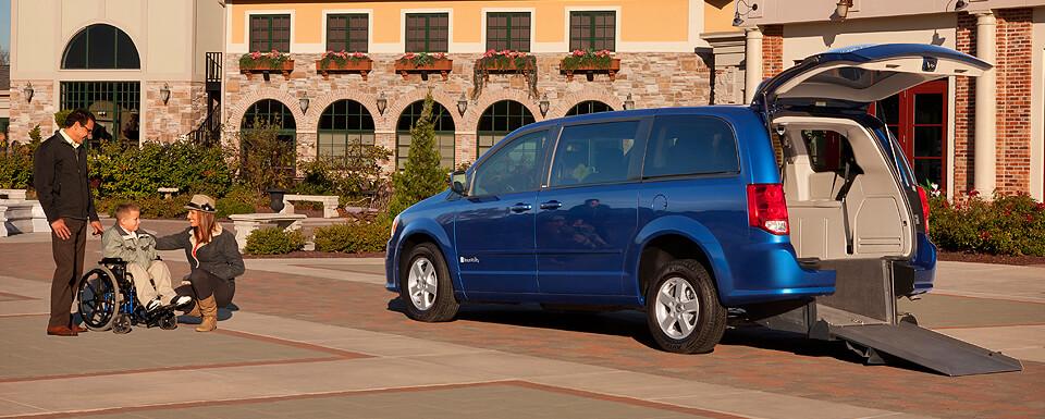 BraunAbility Dodge Power Rear-Entry