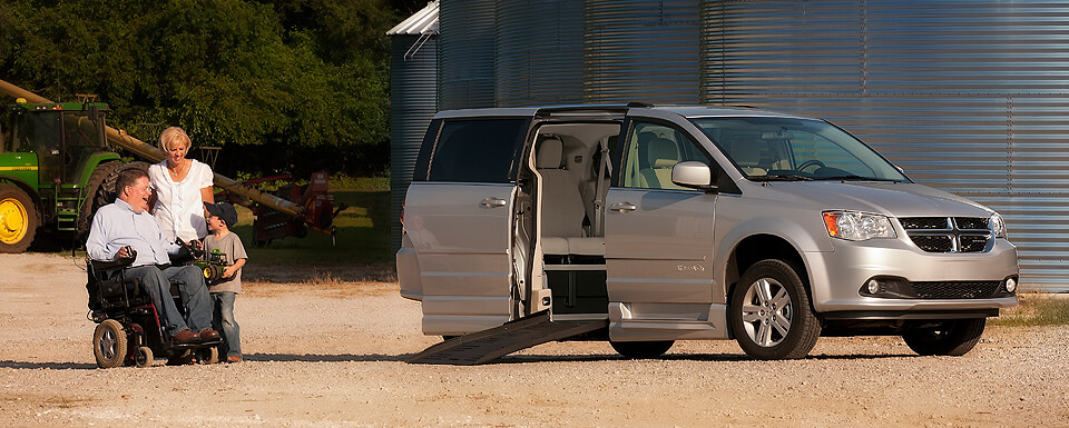 Dodge Wheelchair Van Power XT BraunAbility