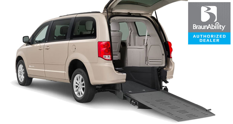 Dodge Wheelchair Van Braun Manual Rear Entry